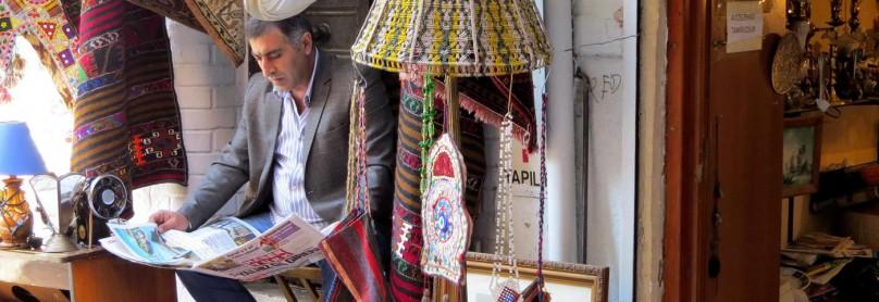 Ladenbesitzer in Kadiköy
