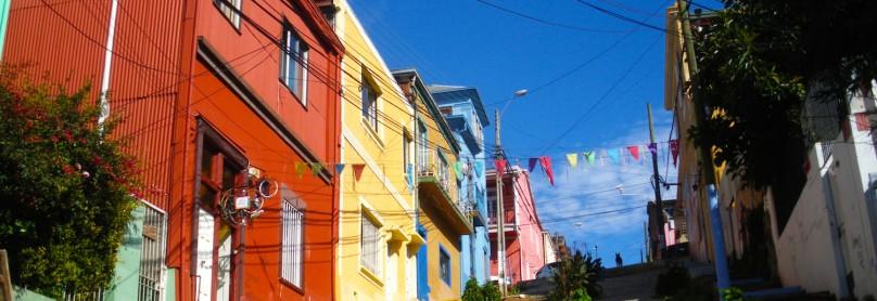 Templeman im Viertel Cerro Alegre, Valparaíso