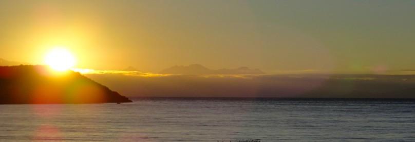 Sonnenaufgang auf der Isla de Sol