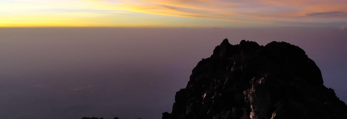 Mt. Meru - Sonnenaufgang