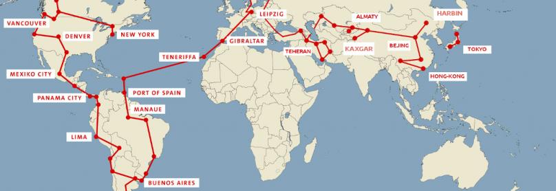 Karte Trip