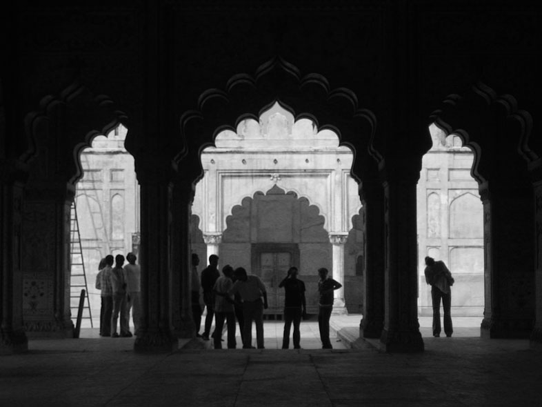Red Fort. Delhi