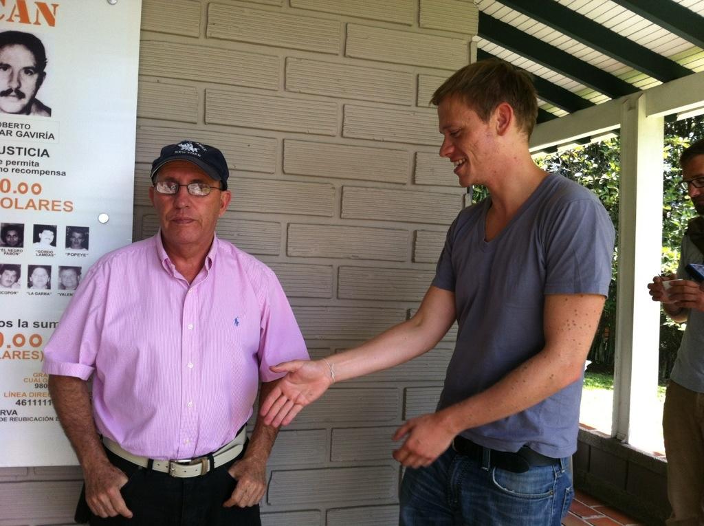 Roberto Escobar und ich
