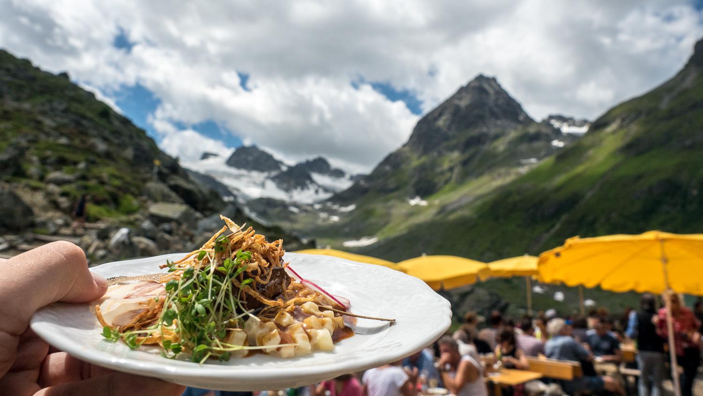 Bodenständiges Essen in den Bergen um Ischgl