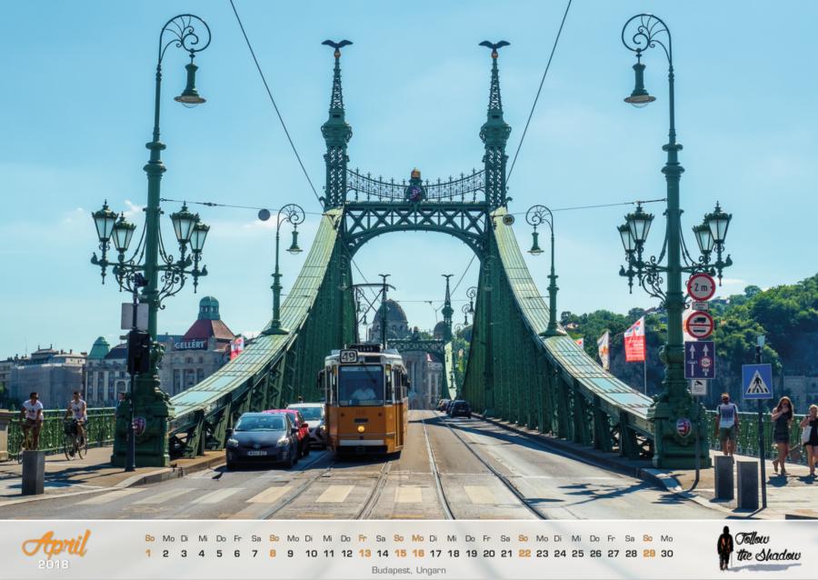 Kalender 2018 - April