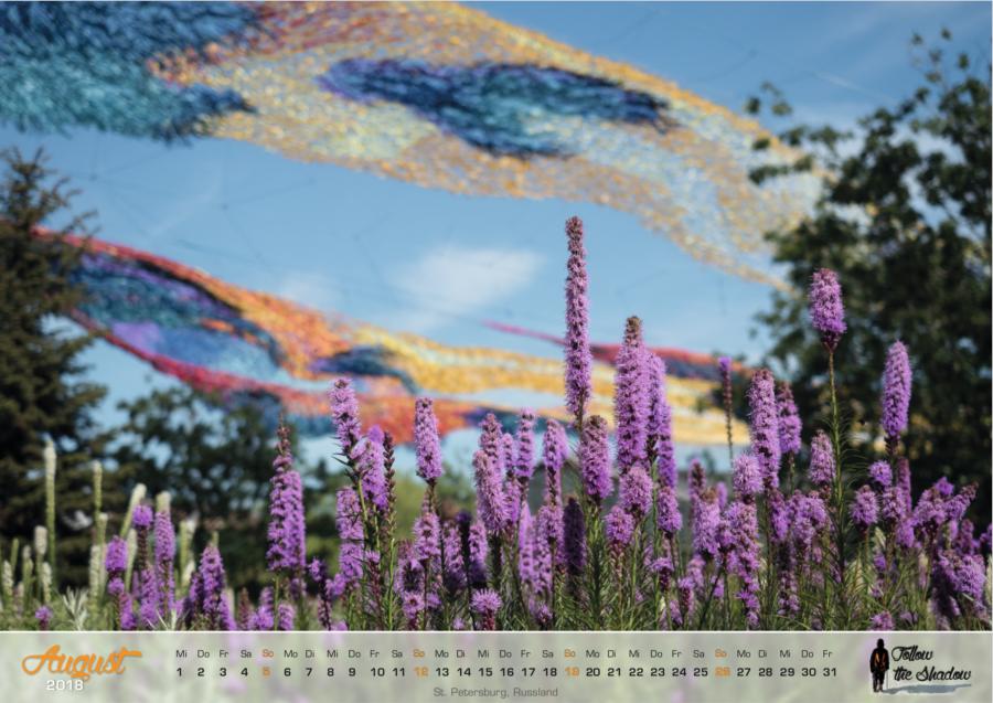 Kalender 2018 - August
