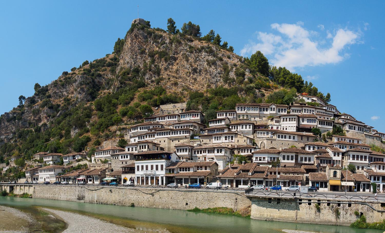 Osmanische Städte - Mangalem in Berat